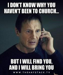 Liam Nissan church meme