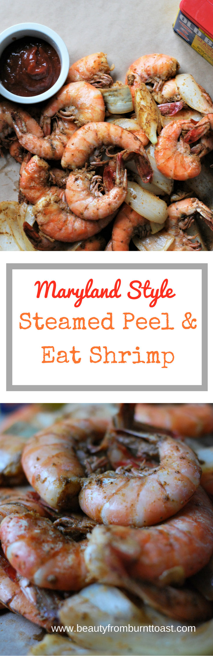 Maryland Style Steamed Peel and Eat Shrimp