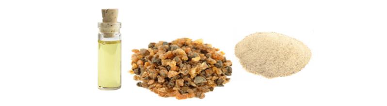myrrh powder resin oil
