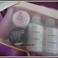 REVIEW: The Body Shop Vitamin E Skin Care Starter Kit.