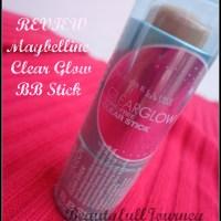REVIEW,FOTD: Maybelline Clear Glow BB Stick – Radiance.