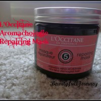 L'occitane Repairing Mask for dry and damaged hair Review.
