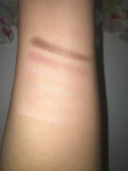 Swatches of top shadows