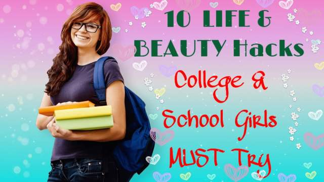 Life and Beauty Hacks,beauty hacks,life hacks,life hacks for girls,hacks,beauty life hacks,beauty,period life hacks,simple life hacks,school life hacks,school hacks,beauty hacks every girl should know,hacks every girl should know,girls,period hacks,beauty hacks tested,period life hacks for beginners,weird life hacks,back to school,girl hacks,school hacks for girls,life hacks for school,beauty hacks for girls