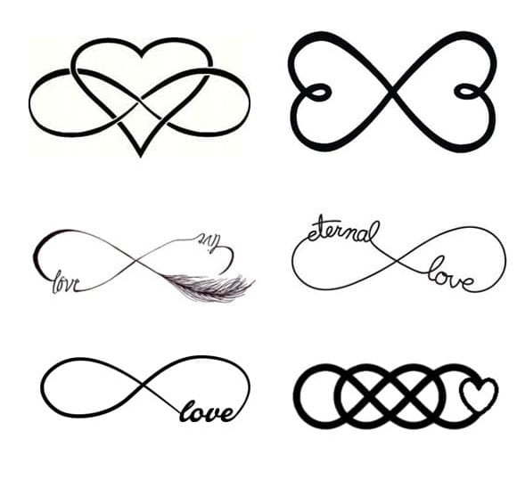80+ Best Designs Infinity Tattoos Symbols and their meanings