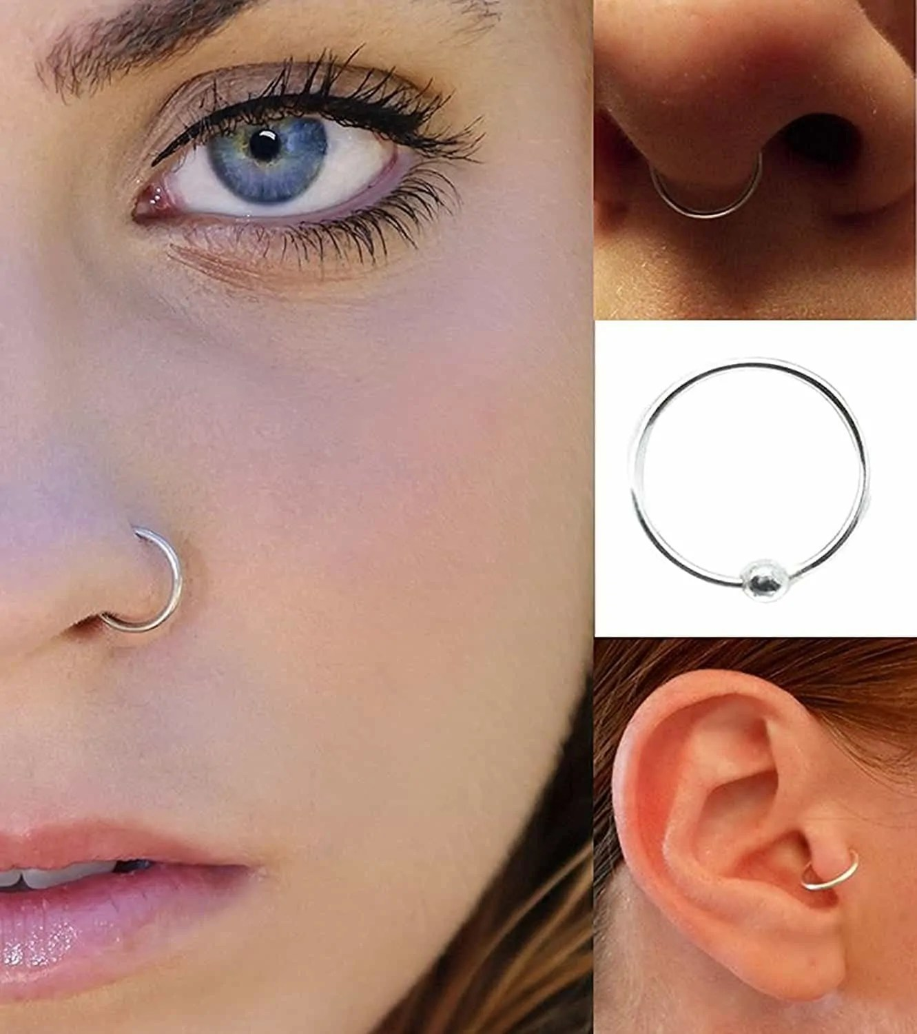 How I Use Body Adhesive For False Piercing Look Skin Glue Uses
