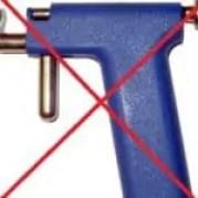 piercing gun vs needles