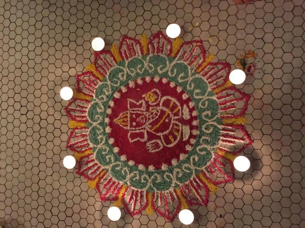 Circle Rangoli