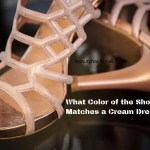 shoes for cream dress