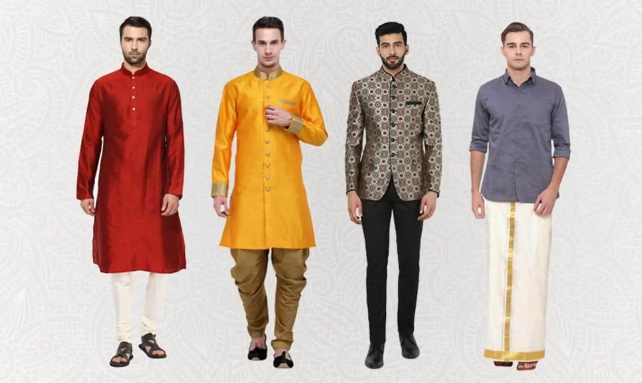 Indian wedding men's wear