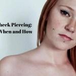 Fake Cheek Piercing