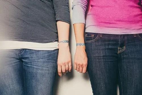 Temporary Bracelet Tattoo