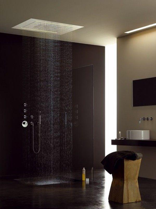 16 Photos of the Creative Design Ideas for Rain Showers ... on Contemporary:kkgewzoz5M4= Small Bathroom Ideas  id=49176