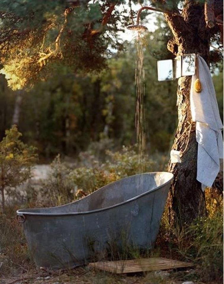 21 Wonderful Outdoor Shower and Bathroom Design Ideas ... on Backyard Bathroom Ideas  id=51058