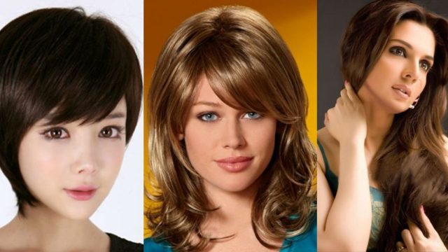 best feather cut hairstyles & step cut haircuts