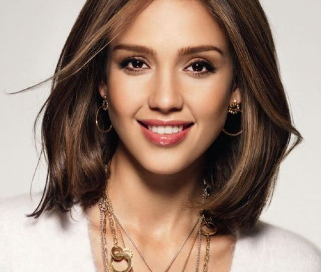 Straight Hairstyle With Single Layer And Highlight