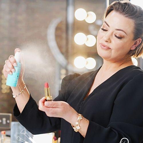 Beauty Hygiene Plus Quick Dry Makeup Sanitising Mist Lisa Armstrong