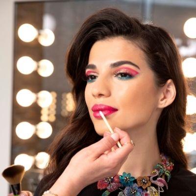 Lisa Armstrong Beauty Hygiene Plus catwalk makeup