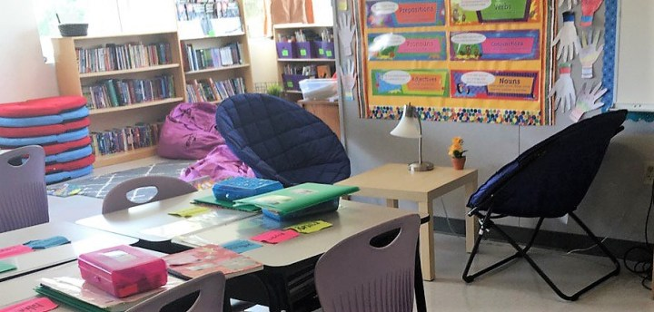 Give it up for flexible seating!