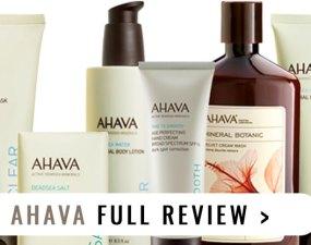 Ahava Brand Review