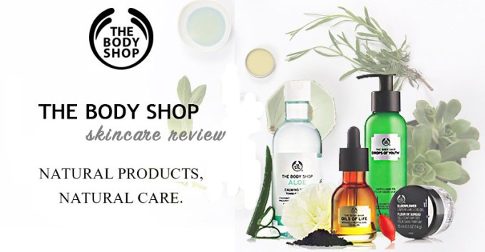 The Body Shop Skincare Brand Review