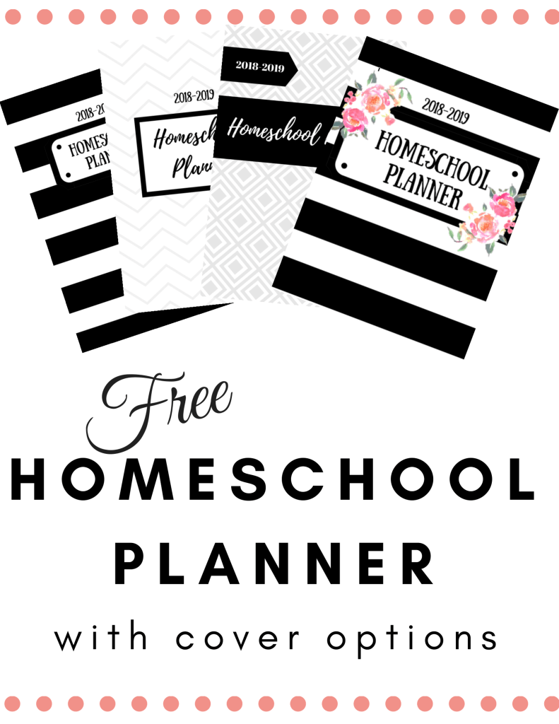Free Homeschool Planner Printable