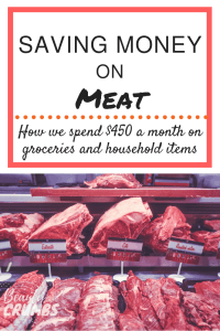 save money of food, how we save money on meat, saving money on meat, how to spend less on groceries, budgeting