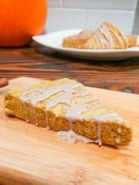 Delicious pumpkin scones that are vegan gluten free and dairy free