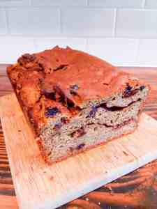 Easy, delicious, gluten-free, and dairy-free cinnamon-raisin bread
