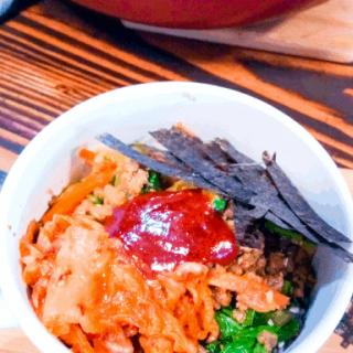 Easy Korean Beef Bowl (Bibimbap)