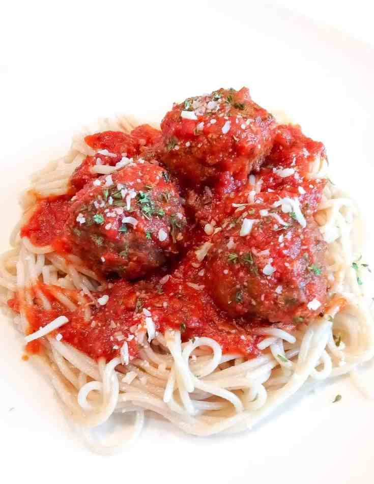 Grain Free Easy meatballs
