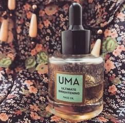 UMA's Ultimate Brightening Face Oil.