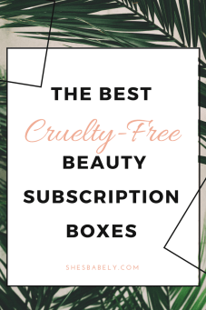 best subscription boxes - cruelty-free beauty box subscriptions - vegan beauty box - vegan subscription box - unboxing subscription box review | beautyisgf123.com