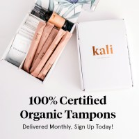 Kali organic tampons subscription box delivery monthly period box free coupon - best subscription boxes - beauty box subscriptions - mom subscription box - subscription boxes for moms - unboxing subscription box review | beautyisgf123.com