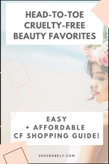 Head To Toe Cruelty-Free Beauty Favorites - cruelty-free beauty products -vegan shampoo go cruelty-free, clean beauty swaps, cosmetic companies that dont test on animals