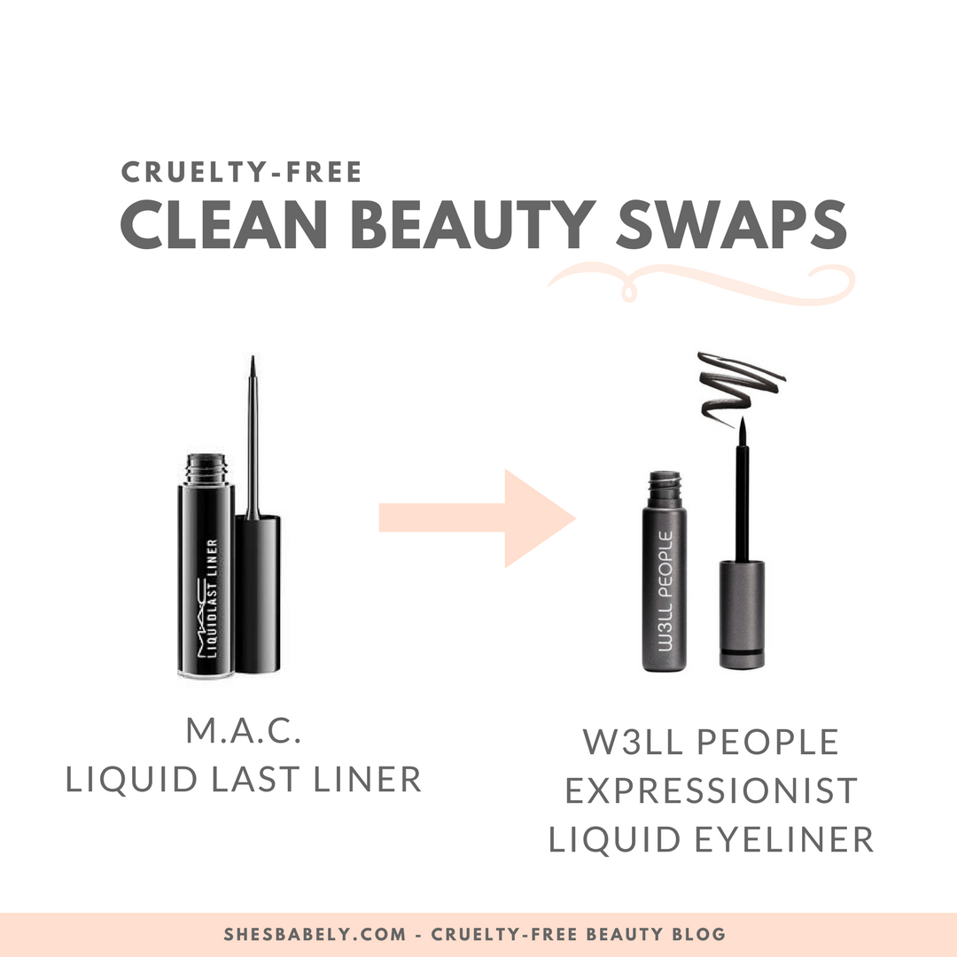 Go cruelty-free, clean beauty swaps, cosmetic companies that dont test on animals w3ll_people_expressionist liquid eyeliner - M.a.c. liqjuid - Credo Beauty - Cruelty-Free Beauty And Makeup Brands - Unboxing promocode cruelty-free beauty vegan beauty box - | beautyisgf123.com
