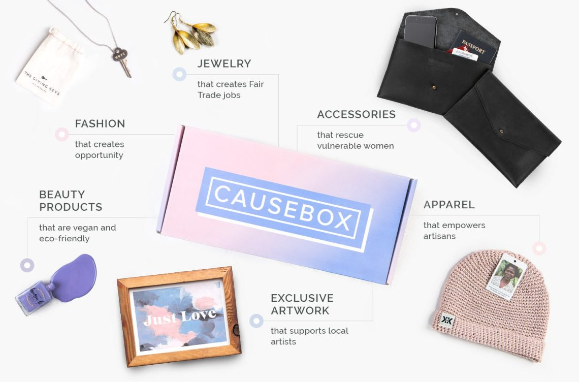 Causebox - - Subscription Box Directory - organic crueltyfree skincare | BeautyIsCrueltyFree.com