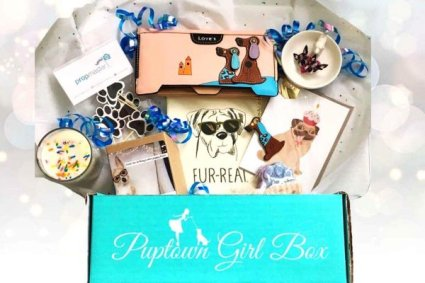 puptown girl - dog box - Subscription Box Subscription boxes for dogs pets cats | BeautyIsCrueltyFree.com