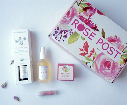 Rosepost Box - beauty box subscriptions - mom subscription box - subscription boxes for moms - unboxing subscription box review | beautyisgf123.com