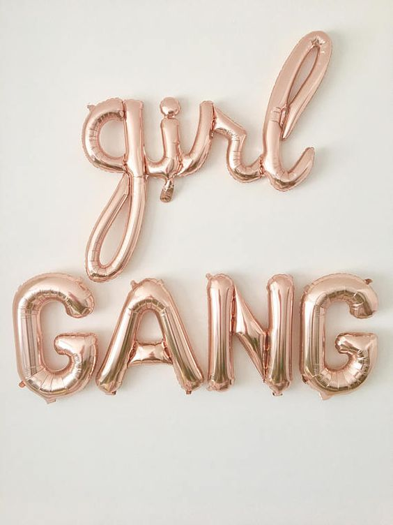 girl gang balloons BFF ovaries before brovaries galentines day gift | BeautyIsCrueltyFree.com