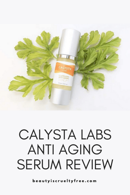Calysta Labs Anti Aging Serum Review