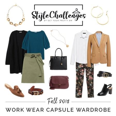 Work Wear Capsule Wardrobe