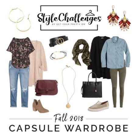 Fall Capsule Wardrobe Style Challenge