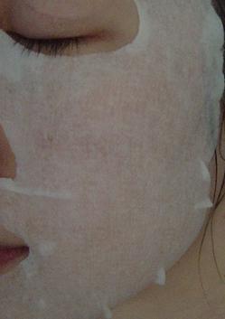 Kose Aqua strectch mask test