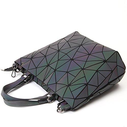 HotOne Geometric Luminous Purses and Handbags Shard ...