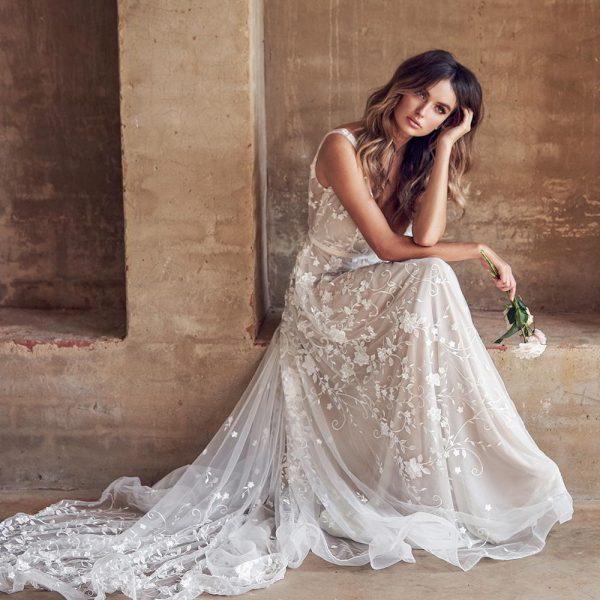 Красивые свадебные платья 2020-2021 - фото моделей, модные ...