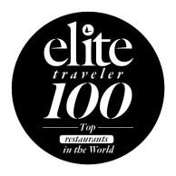 Elite Traveler Top 100 Restaurants 2017