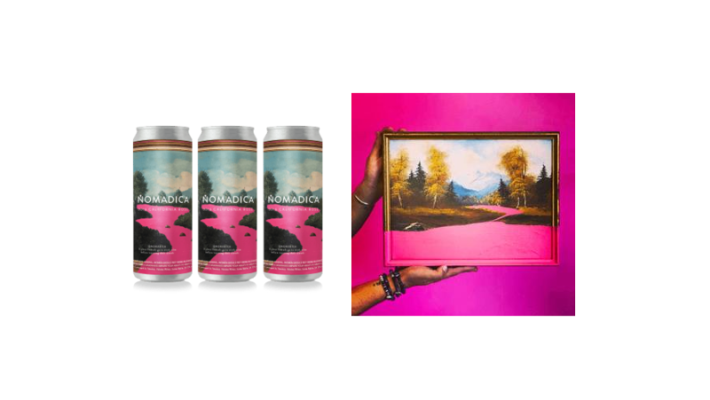 New Canned Wine Features Art On Cans, Launches 'Pink River Rosé