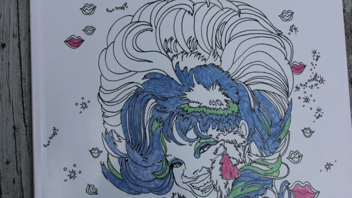 New Adult Coloring Book David Yellen's Hair Wars out Now!