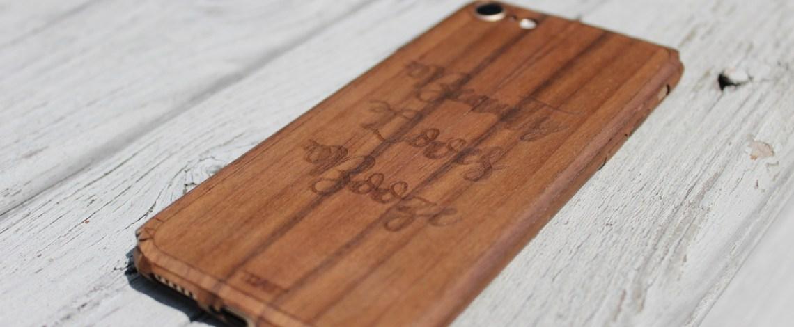 Stylish Toast Wood Phone Cases